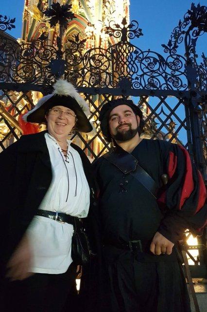 Nürnberg, Die Nachtwächterin mit dem Henker