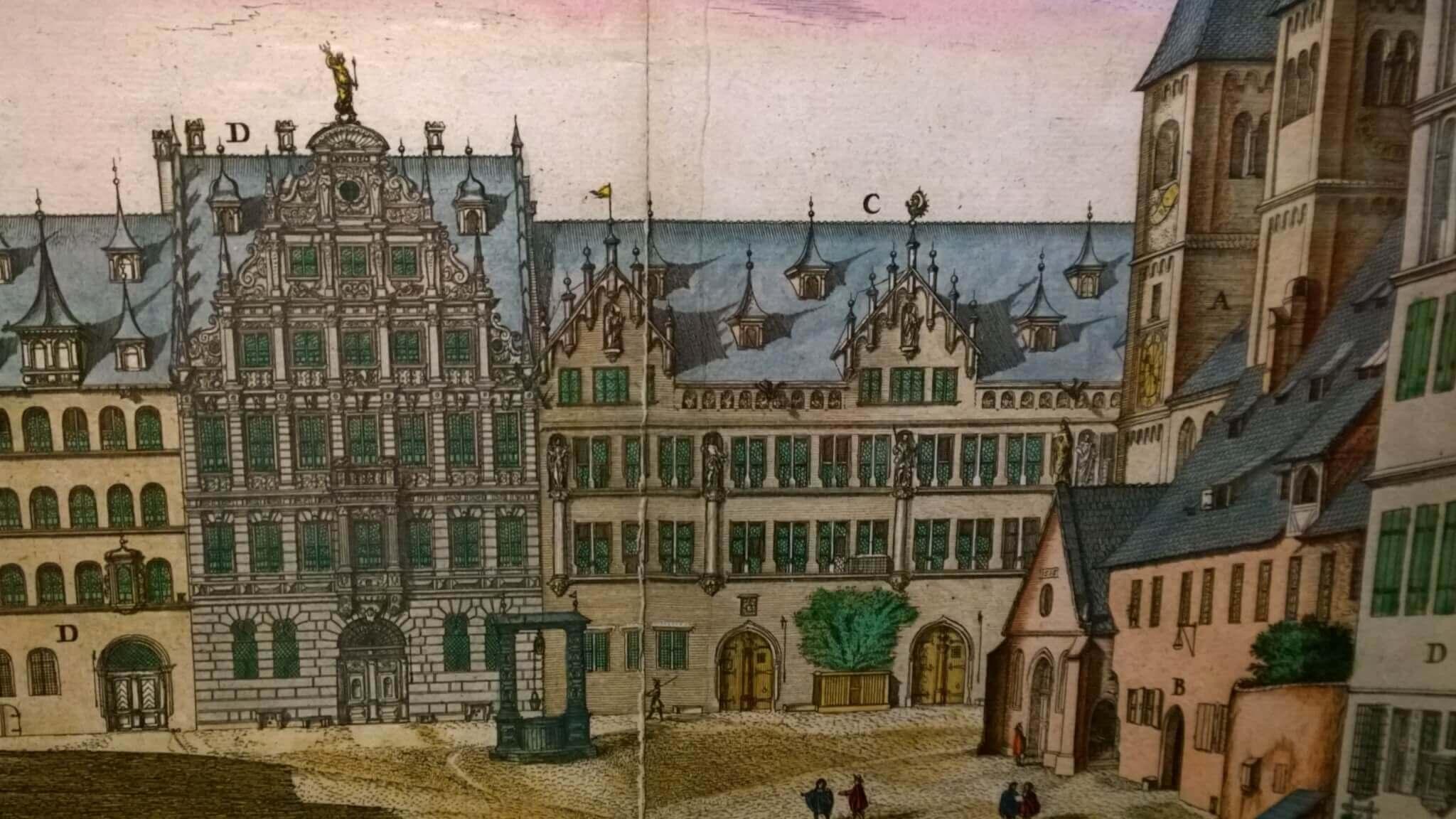 Pellerhaus am Egidienberg 1682
