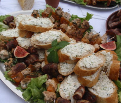 römisches Essen, Foto: Jäger